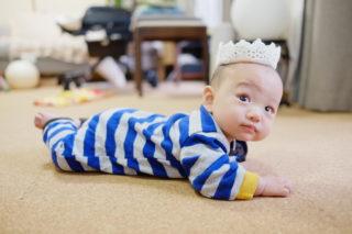うちの赤子が6ヶ月になりました。
